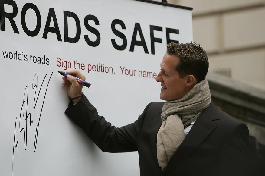 Make Roads Safe, una campaña a lo grande
