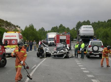 Actuacion tras accidente de trafico