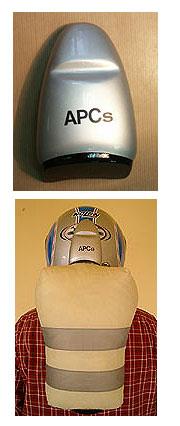 Llega al mercado el primer airbag diseñado para el casco de la moto