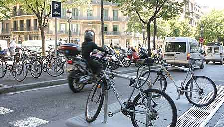Bicicletas en Barcelona