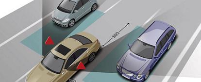 Mercedes Radar Safety System