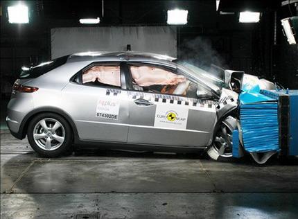 Honda Civic 2008 EuroNCAP