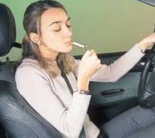 Las distracciones al volante, segunda causa de mortalidad en España