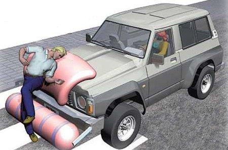 Autoliv desarrolla un sistema de seguridad para proteger a los peatones frente a los 4×4