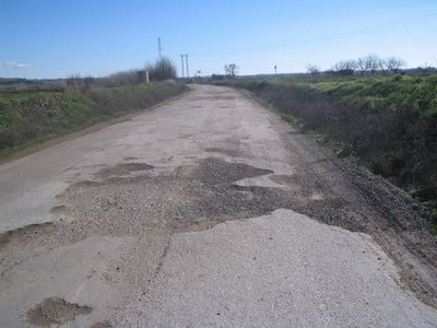 Plan urgente de mantenimiento de carreteras