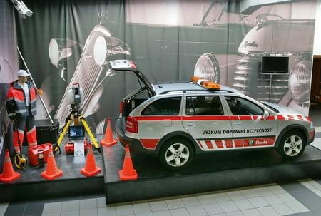 Skoda y la policía checa comienzan un estudio sobre cómo evitar accidentes