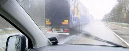 Guardabarros para camiones que evitan el salpicado a los coches