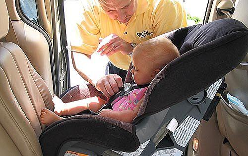 Sistemas de retención infantil: la correcta colocación en el coche