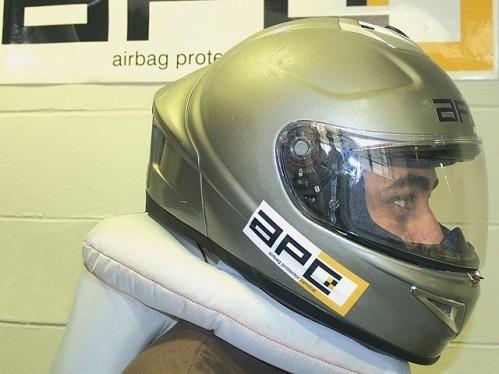 El casco con airbag