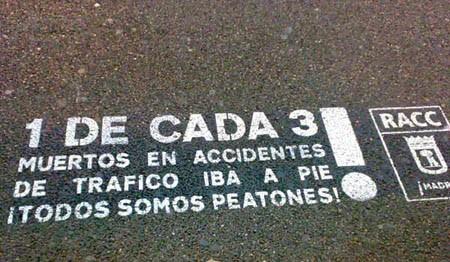 """Pasos seguros"", Premio Nacional de Seguridad"