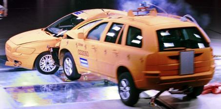 Crash test de un SUV