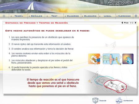 Autoescuela: software de enseñanza particular