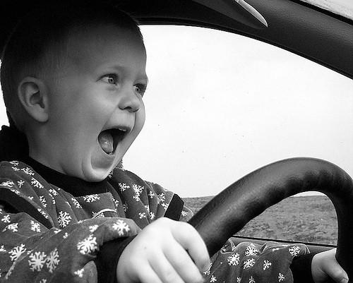 Menor conduciendo