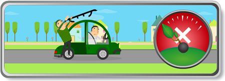 Retirar la baca, un consejo para economizar carburante
