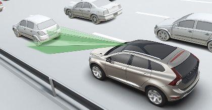 Sistema de frenado automático Volvo