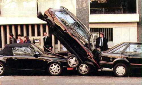 Cuidado con los estacionamientos en línea