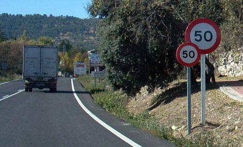 Limite de 50 Km/h