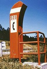 El poste SOS. Ese gran desconocido