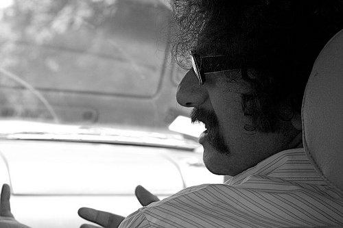 Discusión en el coche
