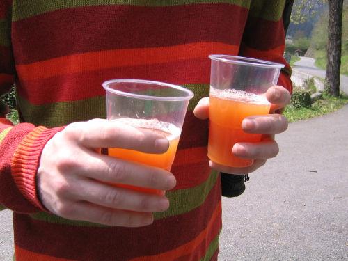 No se puede bajar la tasa de alcohol en un control de alcoholemia