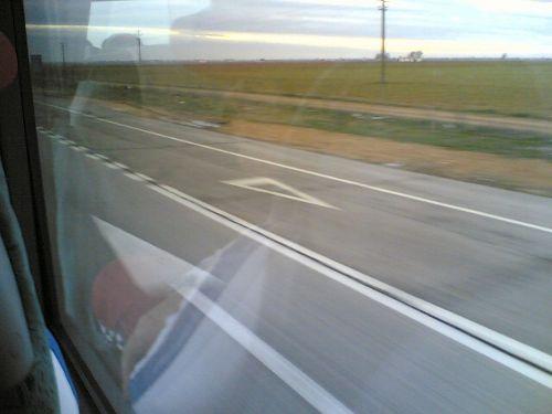 Viaje en autobus