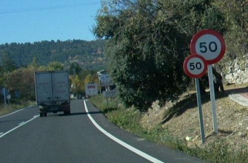 Limitación de velocidad reiterada en Becerril de la Sierra
