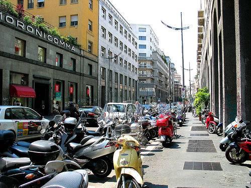 Comportamiento de las motos frente a los atascos