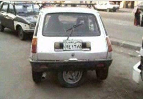 Una alternativa 'barata' al Park Assist, o cómo tunear un R-5 egipcio para que estacione él solito