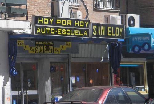 Autoescuela San Eloy, en Sevilla