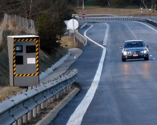 Radar para el control de la velocidad
