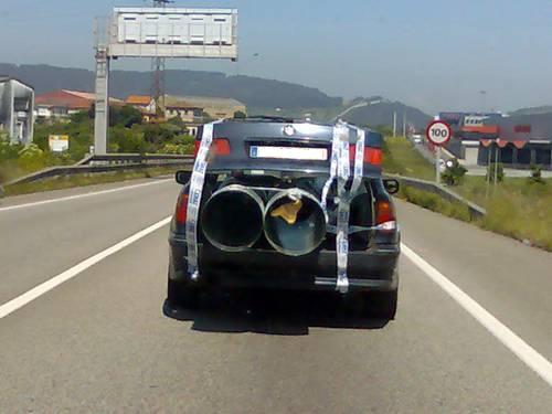 Transporte de objetos en los vehículos