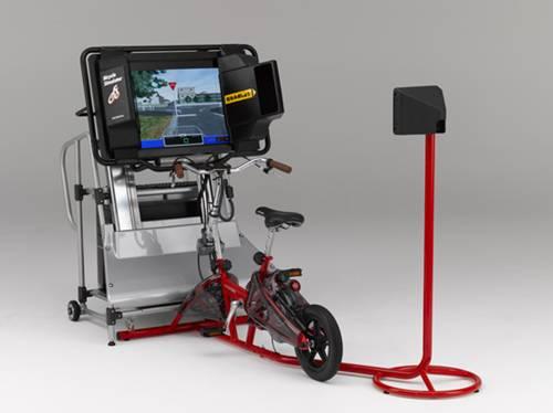 Simulador de conducción de bicicletas Honda