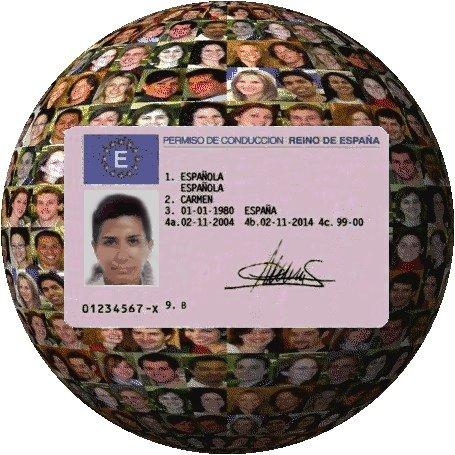 Canje del permiso de conducir