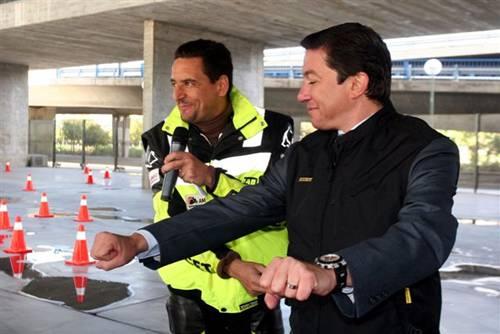Plan de Seguridad Vial para motos en Madrid