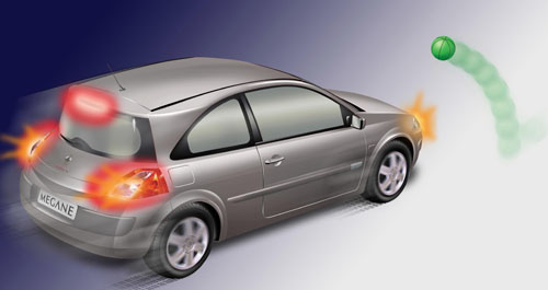 Los coches nuevos tendrán ayuda a la frenada de emergencia obligatoria de serie