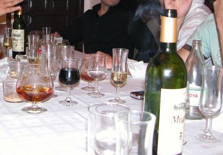Las cenas de Navidad y el alcohol