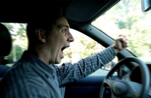 Agresividad al volante, ¿síntoma de inseguridad?