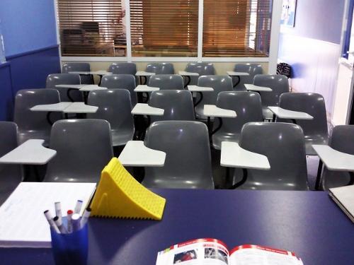Aula de una Escuela de Conductores