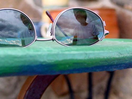 Gafas de sol, ¿con lluvia?