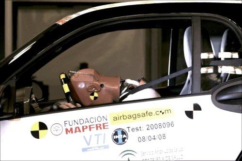 Golpe sin airbag