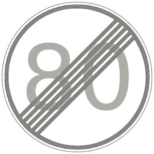 Fin de limitación de velocidad a 80Km/h