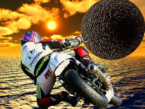 Conducción de motocicletas, la Física (4)
