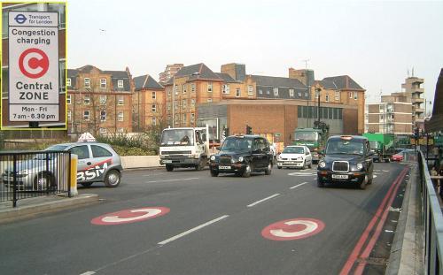 Peaje de congestión