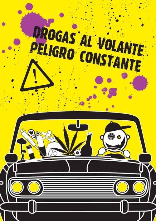 Aumenta el consumo de drogas al volante