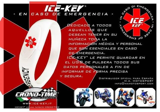 Ice Key, la pulsera para salvar vidas