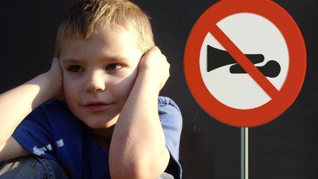 Prohibición de advertencias acústicas