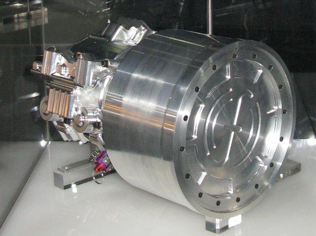 Freno regenerativo usando en un coche de Fórmula 1, conocido como KERS