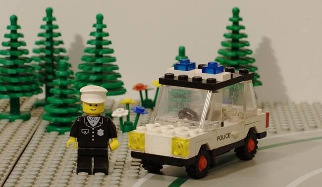 Agentes de tráfico de cartón
