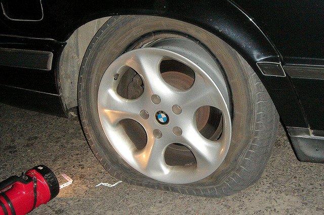 Balada del neumático desinflado