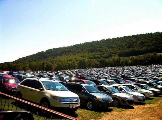muchos coches
